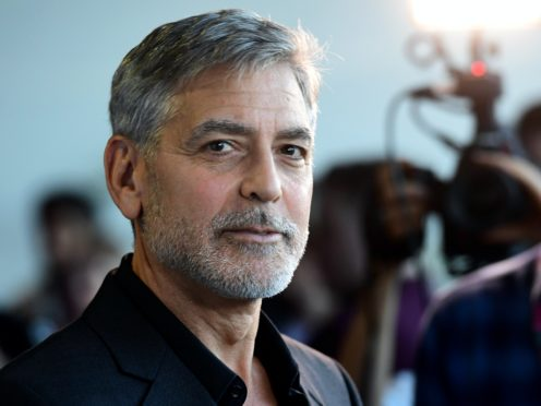 George Clooney directs and stars in The Midnight Sky (Ian West/PA)