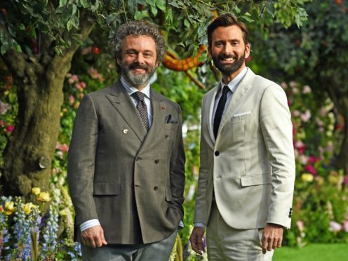 Michael Sheen (left) and David Tennant (Kirsty O'Connor/PA)