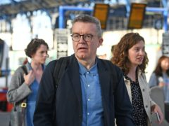 Ex-deputy Labour leader Tom Watson has revealed the only thing he misses about Parliament is the 64 steps he had to walk up to get to his office (Victoria Jones/PA)