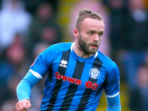 Ryan McLaughlin will be hoping to get another outing for Rochdale (Richard Sellers/PA)