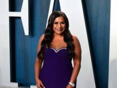 The Office actress Mindy Kaling has surprised fans by announcing she has given birth to a second child (Ian West/PA)