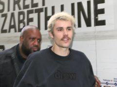 Justin Bieber reflects on his troubles grappling with fame as a teenage popstar in the music video for his new single Lonely (Yui Mok/PA)