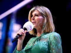 TV presenter Kate Garraway has given an update on her husband Derek Draper's battle with coronavirus (Scott Garfitt/PA)