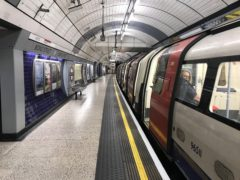 A leaked document says driverless Tube trains would cost £7bn and represent 'poor value for money' (Jonathan Brady/PA)