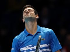 Novak Djokovic was beaten by Lorenzo Senego in Vienna (Tess Derry /PA)