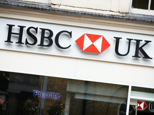 HSBC 's profits dropped in the third quarter, but by less than expected (Aaron Chown/PA)