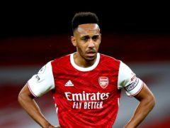 Arsenal's Pierre-Emerick Aubameyang (Julian Finney/PA)