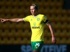 Norwich's Todd Cantwell is available to face Birmingham (Nigel French/PA)
