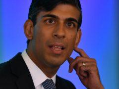 Chancellor Rishi Sunak, whose nationwide furlough scheme finishes on October 31 (Daniel Leal-Olivas/PA)