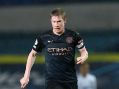 Kevin De Bruyne feels rivals are increasingly defensive when playing Manchester City (Paul Ellis/PA)