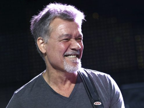Eddie Van Halen died earlier this month at the age of 65 (Photo by Greg Allen/Invision/AP, File)