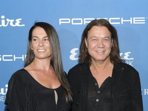 Eddie Van Halen's wife, Janie Liszewski, has paid an emotional tribute to the late rock star (Evan Agostini/Invision/AP, File)