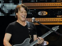 Tributes have flooded in for the 'Mozart of rock guitar' Eddie Van Halen following his death at the age of 65 (Chris Pizzello/Invision/AP)