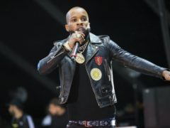 Rapper Tory Lanez has been accused of shooting Megan Thee Stallion during an argument in July (Scott Roth/Invision/AP)