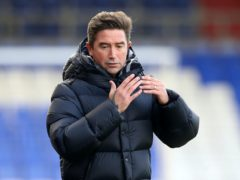 Oldham Athletic manager Harry Kewell is self-isolating following a positive coronavirus test. (Martin Rickett/PA)