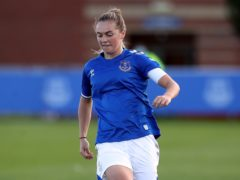 Lucy Graham is set to skipper Everton in Sunday's FA Cup final (Martin Rickett/PA).
