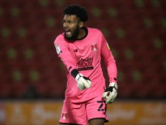 Lawrence Vigouroux got his rewards with a clean sheet against Stevenage (Nick Potts/PA)