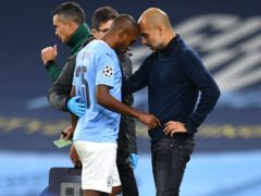 Fernandinho suffered an injury late in Manchester City's win over Porto on Wednesday (Paul Ellis/PA)