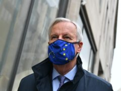 EU's chief negotiator Michel Barnier (Dominic Lipinski/PA)