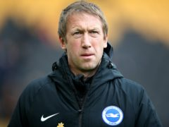 Graham Potter believes Tottenham are the best side he has seen this season (Nick Potts/PA)