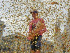 Giro d'Italia winner Tao Geoghegan Hart has made the journey from fan to professional to champion (Luca Bruno/AP/PA)
