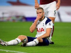 Eric Dier will return to the Spurs side after missing the midweek Europa League trip to Antwerp (Lindsey Parnaby/PA)