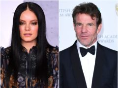 Singer Lily Allen and actor Dennis Quaid are among the celebrities to have tied the knot this year (Ian West/PA)