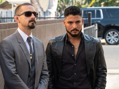 Shia LaBeouf and Bobby Soto (RLJE Films)