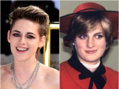 Kristen Stewart said Diana, Princess of Wales' accent is 'intimidating as all hell' as she prepares to play the late royal in an upcoming film (Ian West/PA)