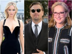 Leonardo DiCaprio, Timothee Chalamet and Meryl Streep are among the A-listers who have joined the star-studded cast of Netflix's Don't Look Up, which will also feature Jennifer Lawrence (Isabel Infantes/Ian West/PA)