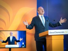 Constitutional politics are a 'distraction' from the problems caused by Covid-19. Liberal Demoicrat leader Sir Ed Davey said. (Stefan Rousseau/PA)