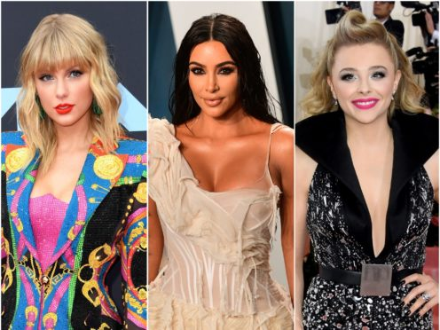 Kim Kardashian West is no stranger to a high-profile feud and has clashed with both Taylor Swift and Chloe Grace Moretz (Ian West/Jennifer Graylock/PA)