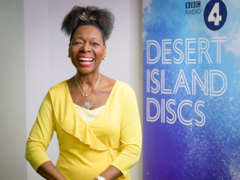 Baroness Floella Benjamin said she was warned 'shut up or you'll never work again' when she first called for greater diversity in TV (Amanda Benson/BBC/PA)