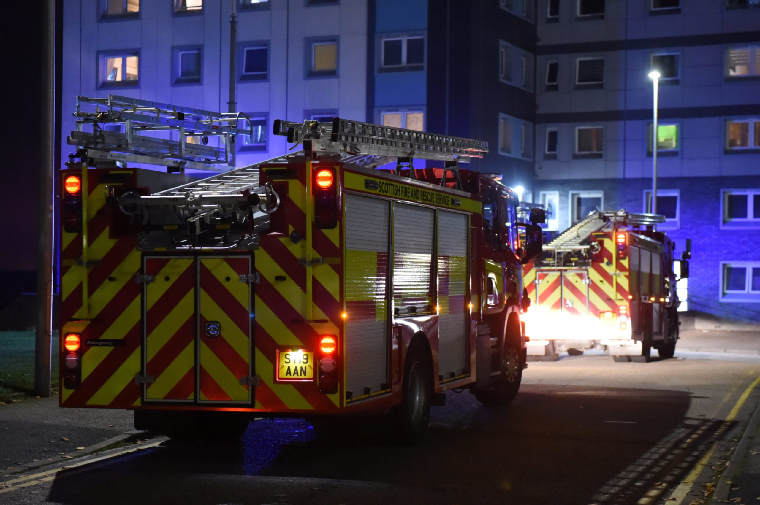 Fire crews battle shed fires in Kemnay | Press and Journal