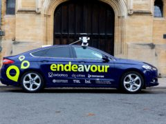 A project claiming to be the UK's first multi-city trial of self-driving cars has been launched in Oxford (Project Endeavour/PA)