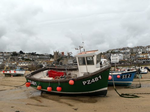 The harbour at St Ives in Cornwall (David Davies/PA)