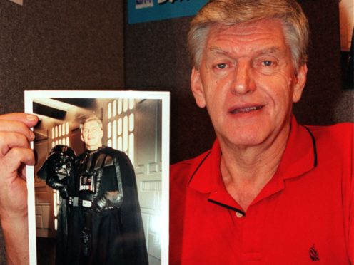 Dave Prowse, the Darth Vader actor (Tony Harris/PA)