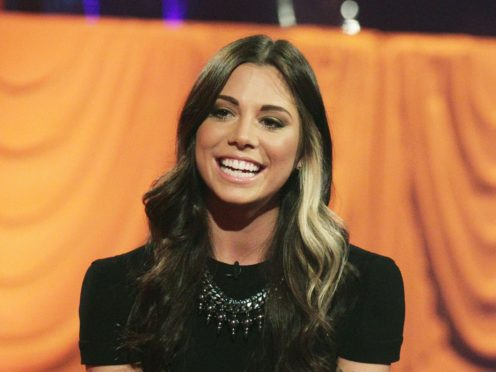 Singer Christina Perri said she had a 'good update' on her pregnancy as she told fans she was being sent home from hospital (Yui Mok/PA)