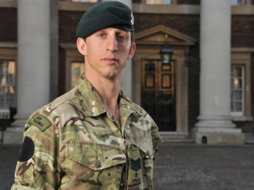 Serjeant Deacon Cutterham, of The Rifles, whose heroics in winning one the highest military honours for bravery have been questioned has sold his medals for £140,000 (Sgt Russ Nolan RLC/MoD/PA)