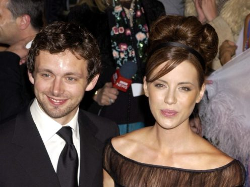 Kate Beckinsale and Michael Sheen (William Conran/PA)