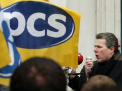 PCS leader Mark Serwotka called for a parliamentary debate following support for the union's campaign to reward civil servants with a decent wage rise (Gareth Fuller/PA)