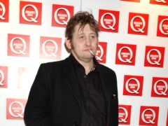 Shane McGowan sang Fairytale Of New York, the hugely popular Christmas song that has attracted controversy (Yui Mok/PA)