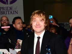 Harry Potter star Rupert Grint has joined Instagram and shared a picture of his daughter (Ian West/PA)