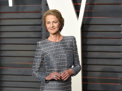 Actress Charlotte Rampling said she fears for the future of cinema due to closures and the lack of new releases during the pandemic (PA)