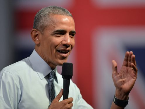 Barack Obama to appear virtually at the Booker Prize ceremony (Anthony Devlin/PA)