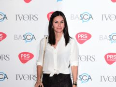 Courteney Cox has celebrated wrapping up production on the new Scream film and said original director Wes Craven would be 'so proud' (Ian West/PA)
