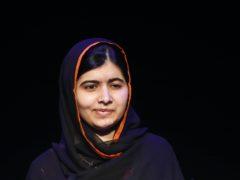 Malala Yousafzai has urged the Government not to cut the overseas aid budget (Joe Giddens/PA)