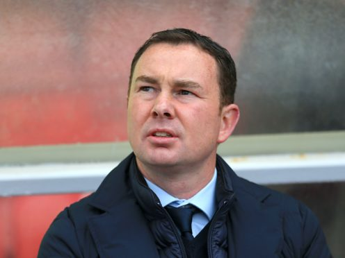 Derek Adams did not think much of Salford (Nigel French/PA)