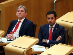 Scottish Labour leader Richard Leonard (left) has appointed Anas Sarwar as his constitutional spokesman (Andrew Milligan/PA)