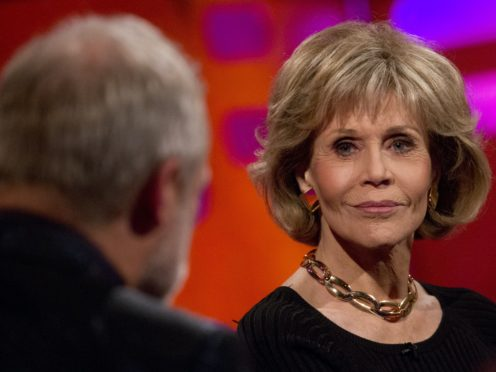 Jane Fonda has been campaigning on climate change (Isabel Infantes/PA)